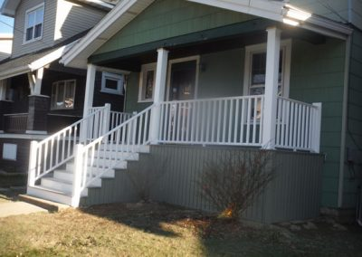 After - Finished Porch