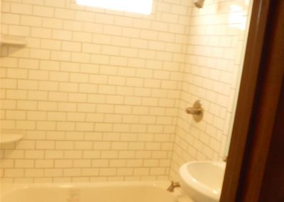 Subway Tile in Shower Area