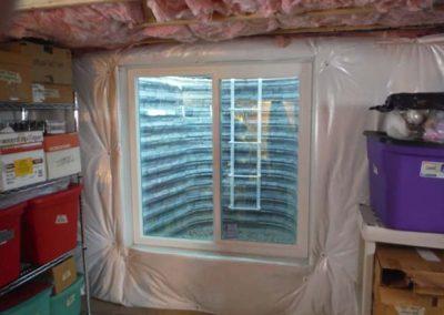 Egress Window Installed in Basement