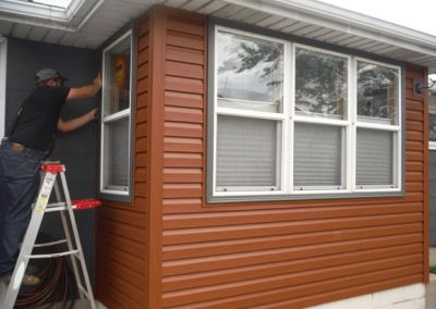 Cedar Looking Siding
