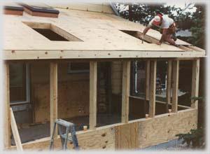 Building a sunroom