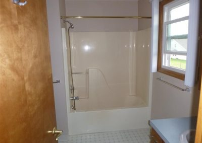 Handicap Access Shower - Before