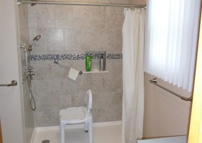 Handicap Access Shower - Finished