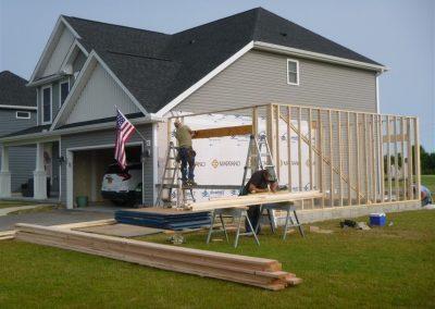 Garage Build at Start